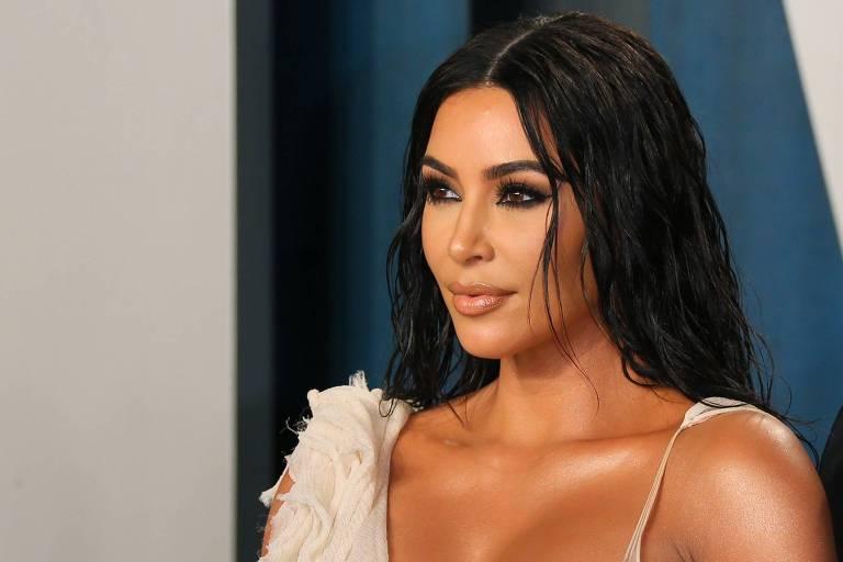 Kim Kardashian na 2020 Vanity Fair Oscar Party