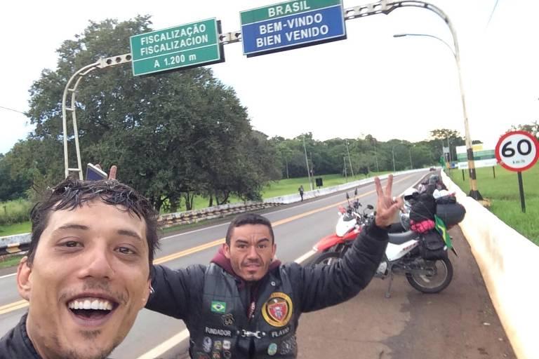 Motociclista Thiago Guido cruza Brasil, Argentina e Chile de moto