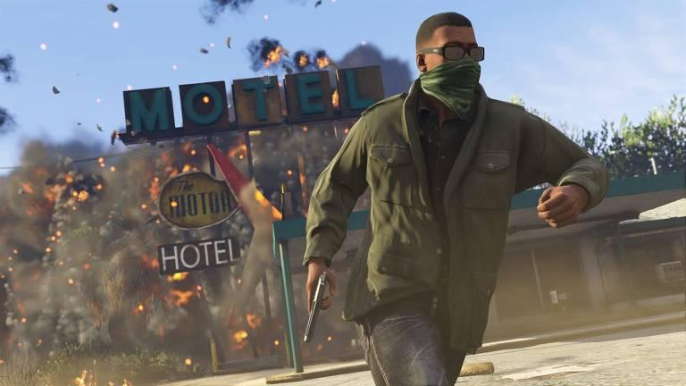 Jogo  Grand Theft Auto 5 (GTA 5), disponível no Xbox Game Pass
