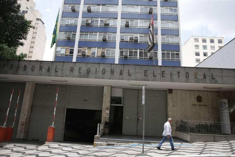 Sede do Tribunal Regional Eleitoral de São Paulo, no bairro Bela Vista