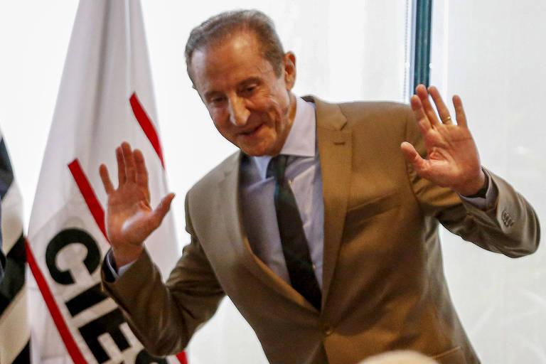 O presidente da Fiesp, Paulo Skaf, ex-candidato ao governo de São Paulo