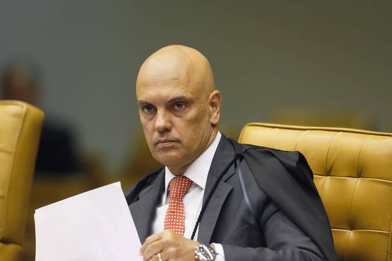 O ministro do Supremo Alexandre de Moraes