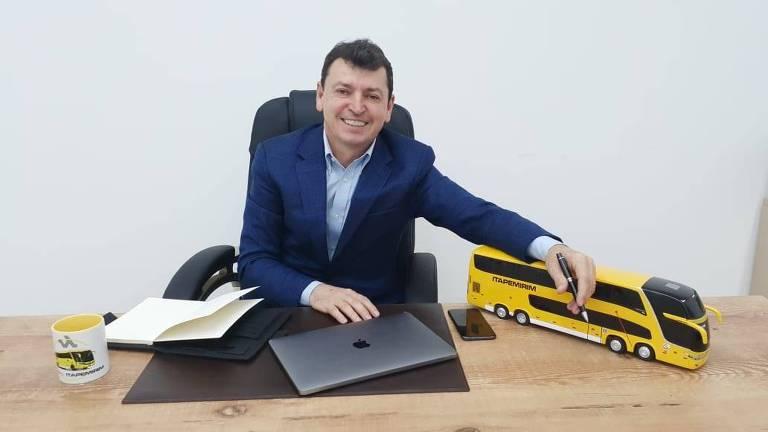 Sidnei Piva, presidente da Itapemirim