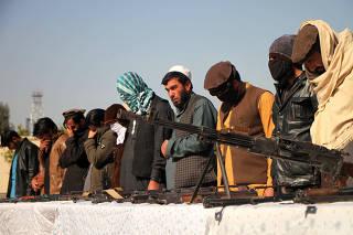 AFGHANISTAN-NANGARHAR-TALIBAN-SURRENDER