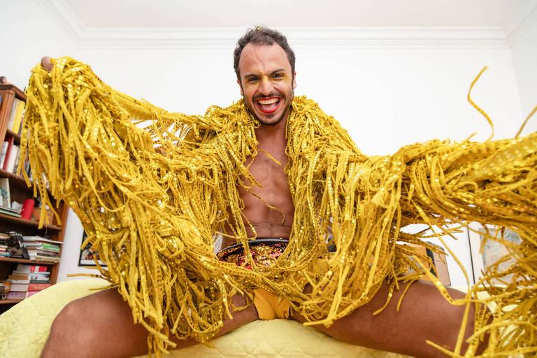 O diretor de teatro Ricardo Cabral, 29, passará o Carnaval em São Paulo neste ano pela primeira vez