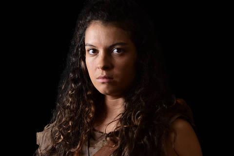 A atriz Ana Terra interpreta Renah, a primeira filha de Adão e Eva