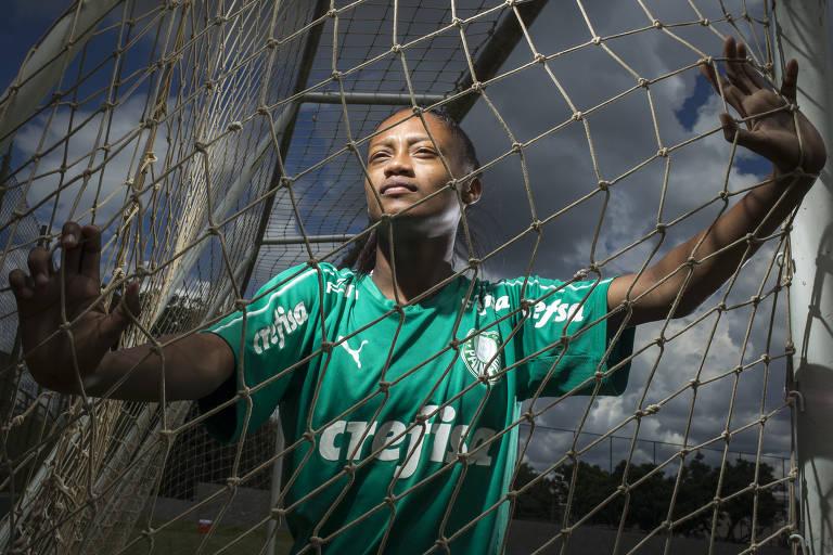 Entrevista com a jogada Ary, do time do Palmeiras
