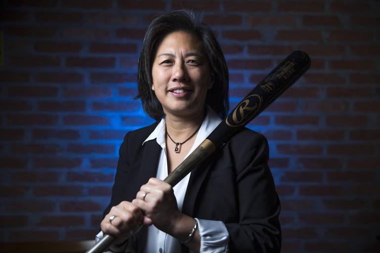 Quebradora de barreiras, vice da liga americana de beisebol quer mais