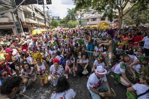 Aumento de megablocos é desafio logístico no Carnaval de SP