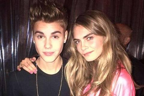 Justin Bieber e Cara Delenvigne