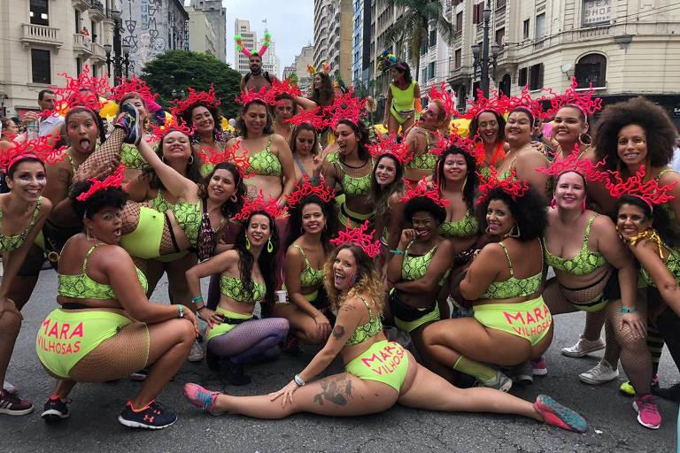 O coletivo feminista Maravilhosas Corpo de Baile, que tem estúdio de pole dance em São Paulo
