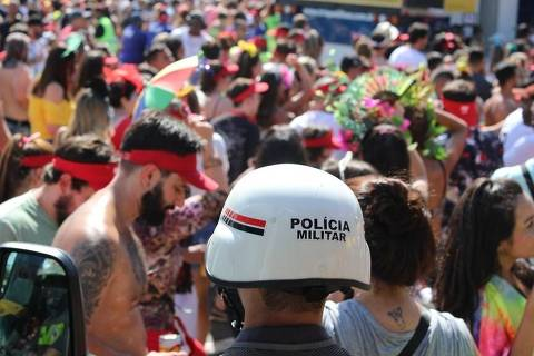Primeira madrugada de Carnaval em São Paulo tem 241 presos