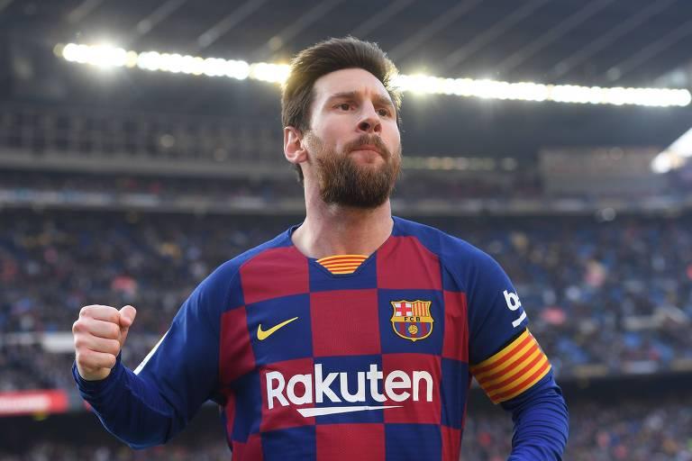 Messi não fazia quatro gols em um único jogo desde 2017, contra o mesmo rival, o Eibar
