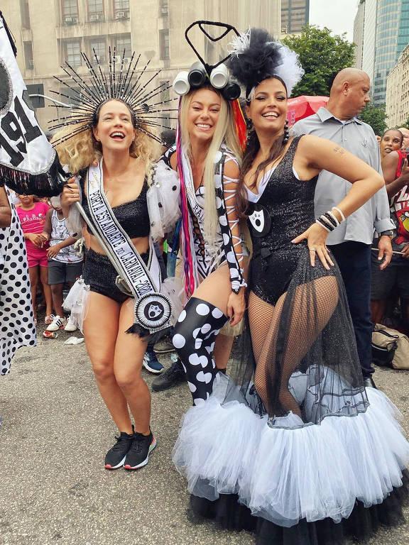 Primeiro dia do Carnaval de rua no Rio de Janeiro