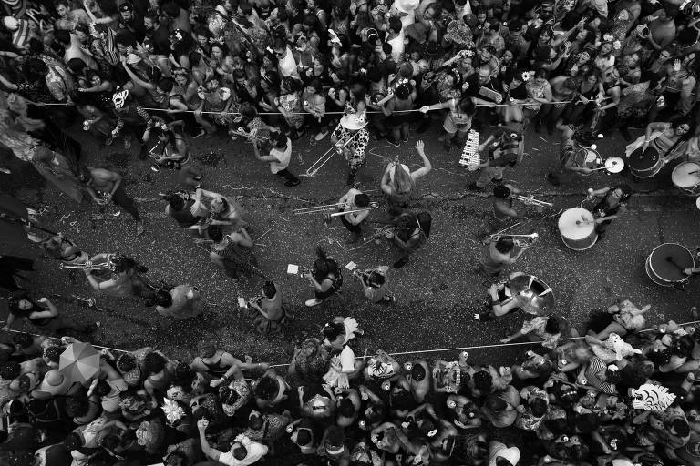 Cristiano Mascaro registra Carnaval para Folha