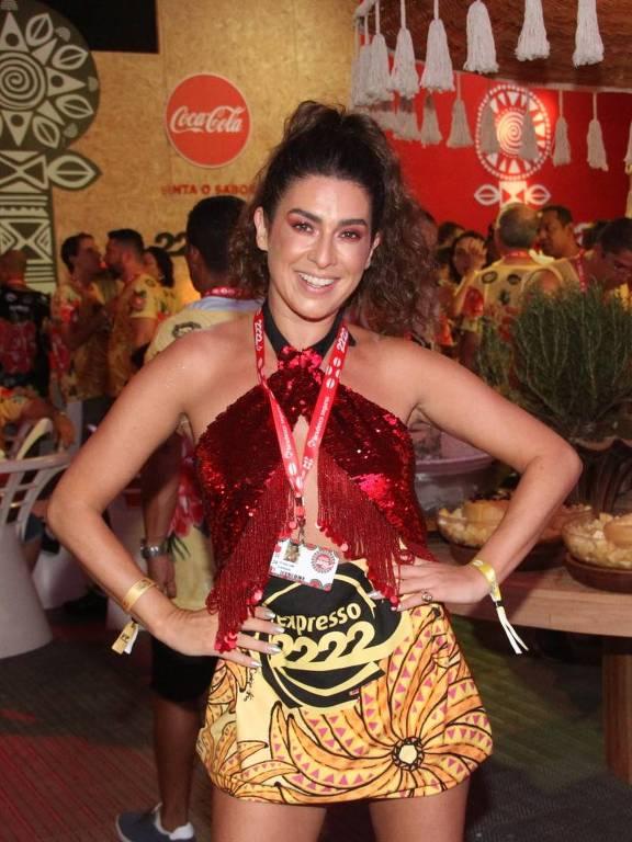 Fernanda Paes Leme curti carnaval em Salvador no Camarote 2222