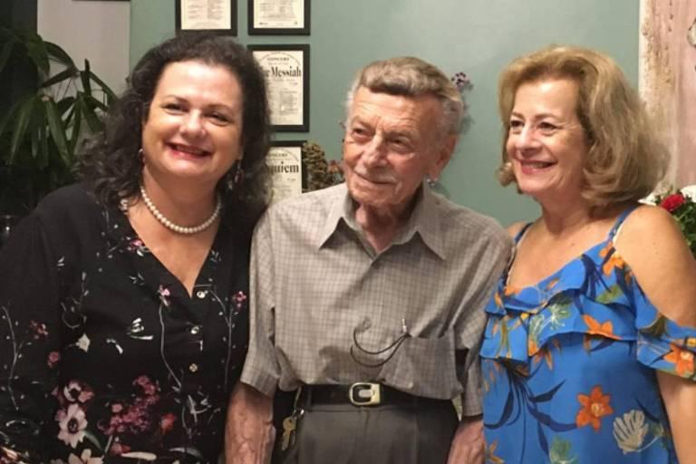 Orlando Legname (1926-2020) e as filhas