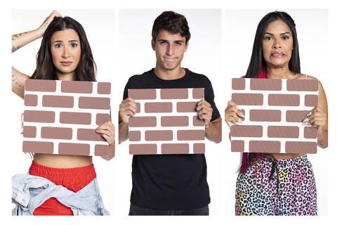 Bianca Andrade, Felipe Prior e Flayslane formam o quinto paredão