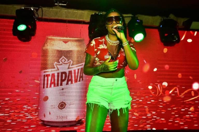 Ludmilla faz show no Camarote Itaipava