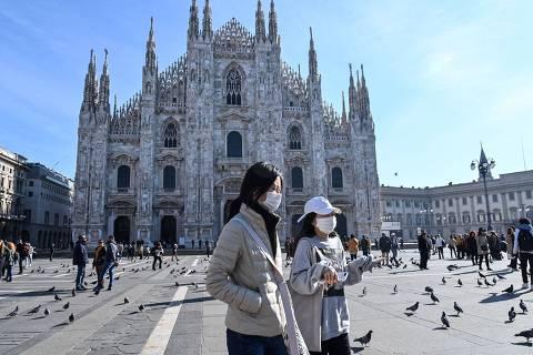 Itália confirma quinta morte e mais de 200 infecções por novo coronavírus