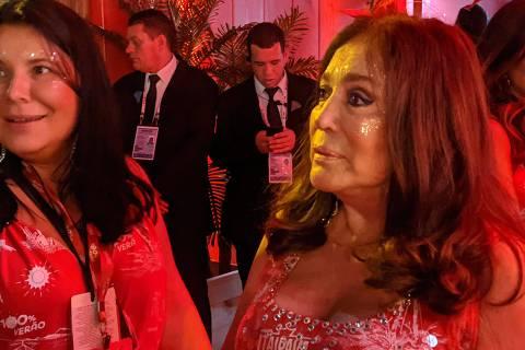 'Vou sair na porrada', diz Susana Vieira em defesa de Regina Duarte