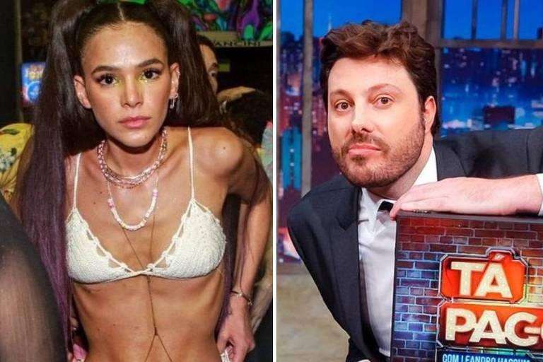 Danilo Gentili criticou aparência da Bruna Marquezine
