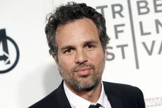 Actor Mark Ruffalo arrives at the screening of the film