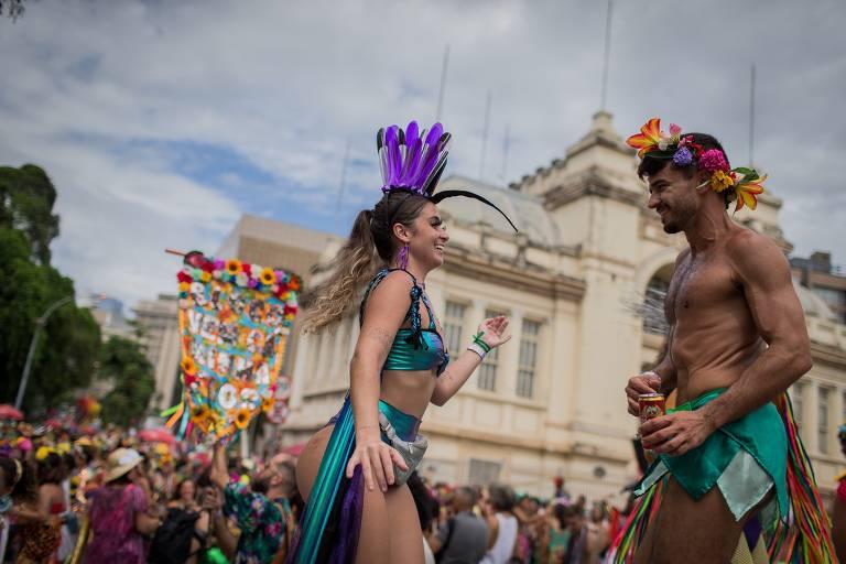 Carnaval de rua no Rio em 2020