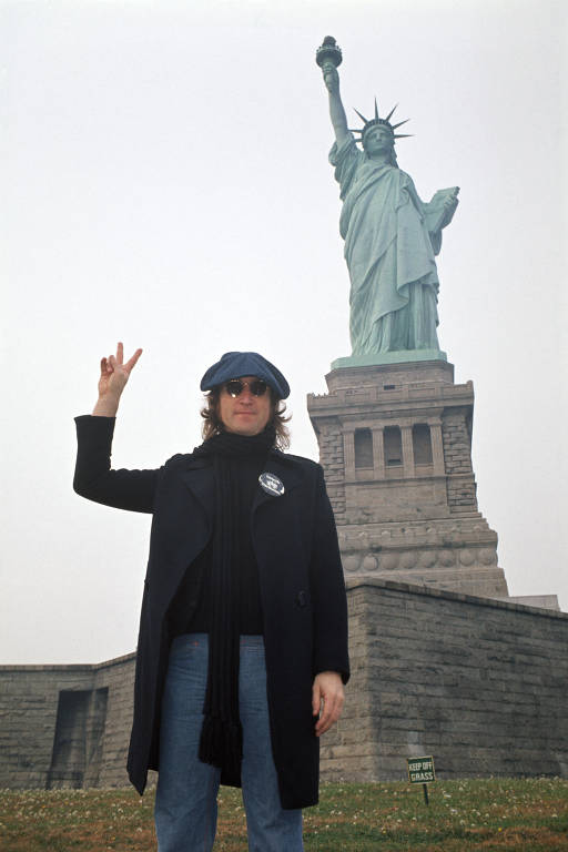 John Lennon em Nova York, por Bob Gruen