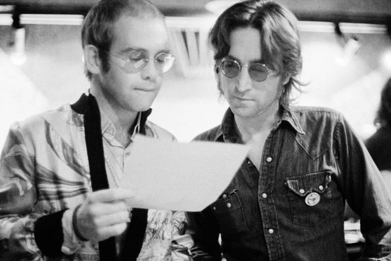 John Lennon e Elton John