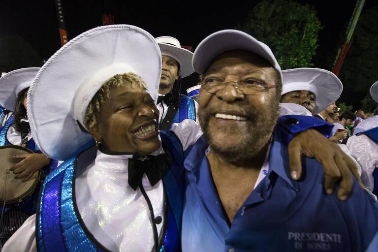Camarotes do segundo dia de desfiles do Carnaval do RJ