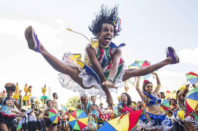 Tradicional do Recife, bloco Galo da Madrugada estreia nas ruas de SP