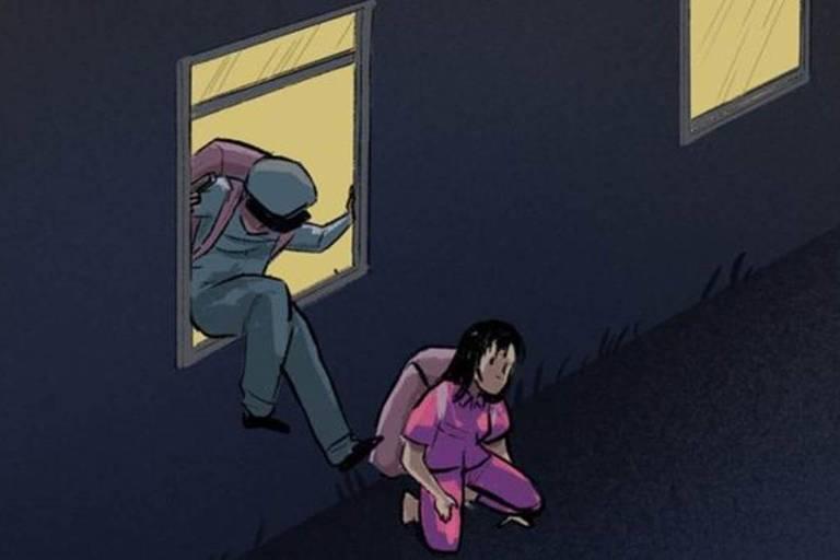 O guarda Jeon e a prisioneira Kim escaparam juntos da prisão na Coreia do Norte