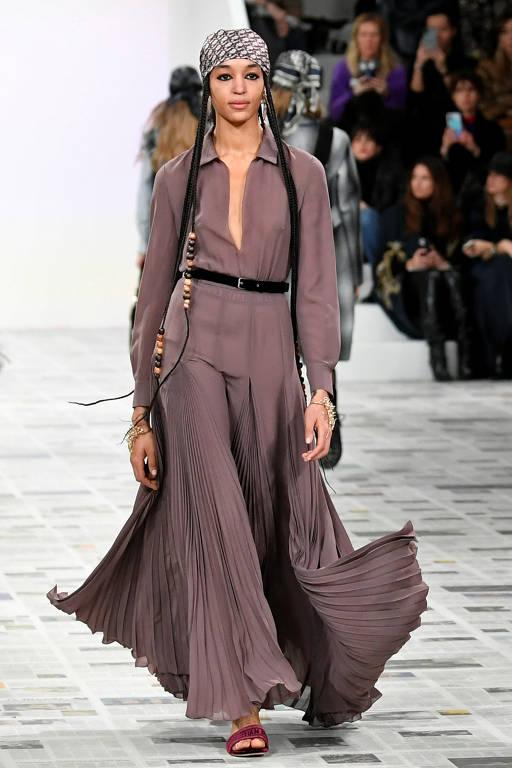 Desfile da grife Christian Dior na Semana de Moda de Paris 2020