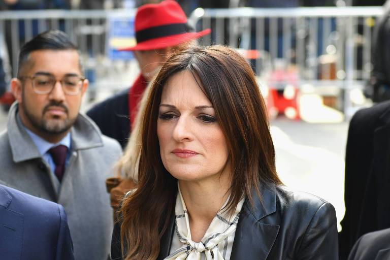 Donna Rotunno, advogada de Harvey Weinstein, deixa o tribunal de Manhattan, em 24 de fevereiro de 2020