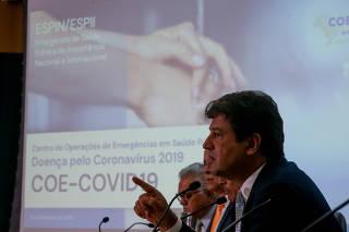 CORONAVIRUS / MANDETTA / SAUDE / EPIDEMIA