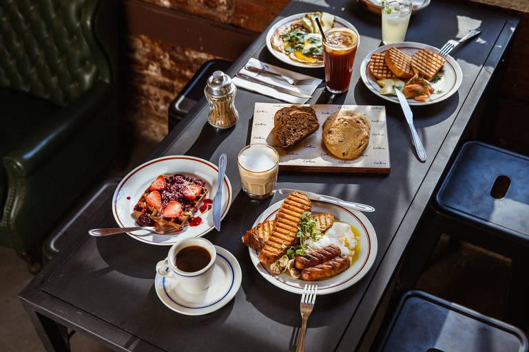 Brunches e cafés da manhã
