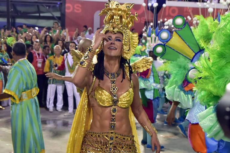 Paolla Oliveira se diz emocionada com 2º lugar da Grande Rio: 'Vitórias não são apenas títulos'