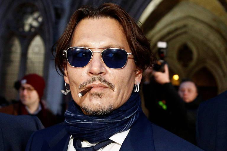 Johnny Depp processa jornal The Sun por calúnia em caso em que era acusado de espancar mulher