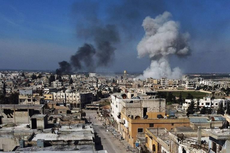 Turquia reage a ataque aéreo na Síria e eleva tensão com a Rússia
