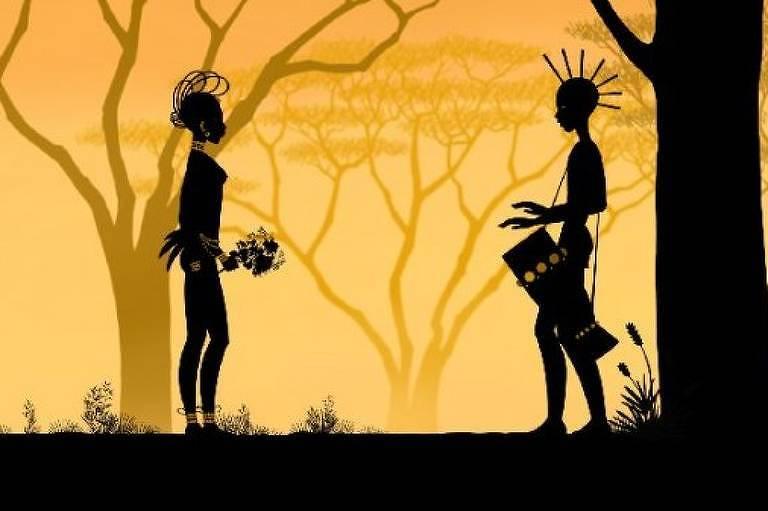 Cena do filme 'Príncipes e Princesas', de Michel Ocelot