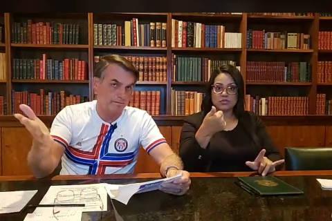 Bolsonaro cobra do Congresso votações, mas nega incitar ataque ao Legislativo