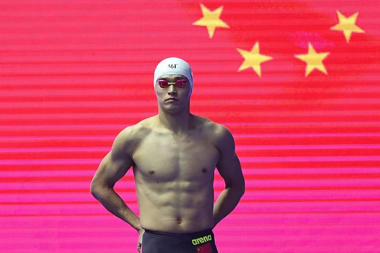 Nadador chinês Sun Yang, tricampeão olímpico, é suspenso por 8 anos