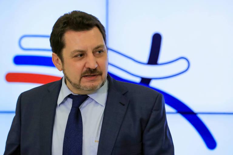 Evgeny Yurchenko foi eleito nesta sexta como novo presidente da federação de atletismo do país