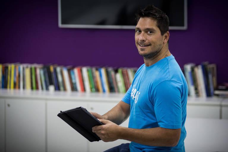 Bruno Aleixo, fundador da Altrus, startup que conecta doadores e ONGs