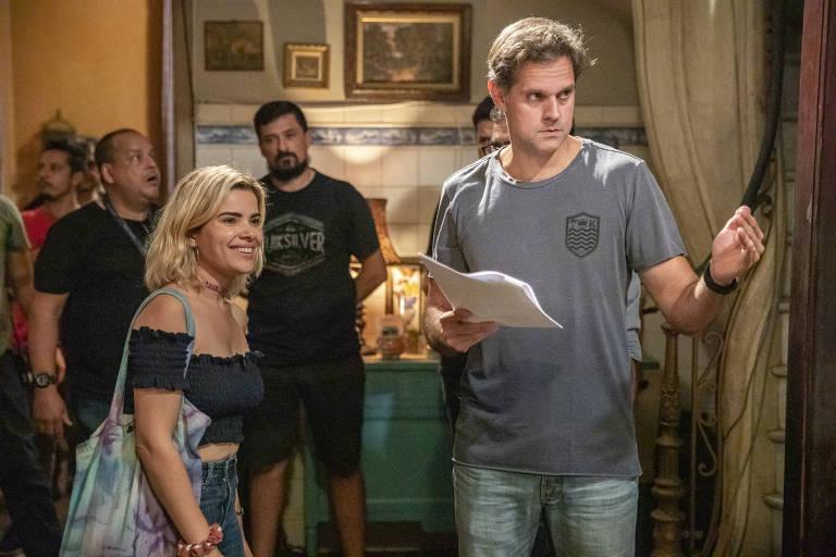 """A atriz Vanessa Giácomo na série """"As Filhas de Eva"""" (Globoplay)"""