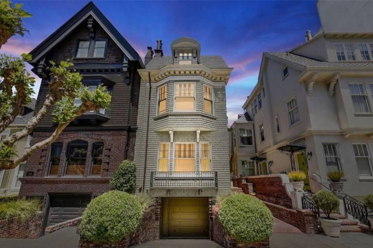 Fotos da mansão de Julia Roberts em São Francisco