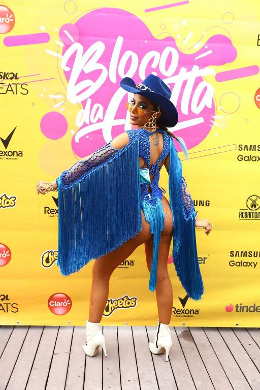 Bloco da Anitta no Rio de Janeiro - Carnaval 2020