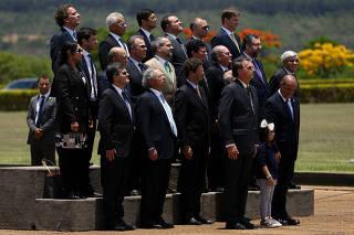 BOLSONARO / MINISTROS / GOVERNO / BANDEIRA
