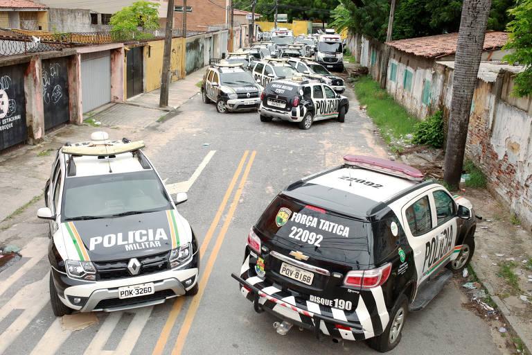 Paralisações de policiais no Brasil